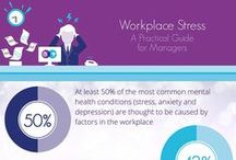 Mental Health at Work / Mental health issues affect people at home AND in the workplace