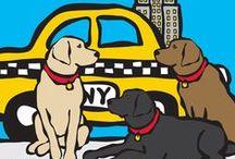 Love NYC / NYC Themed Art by Marc Tetro