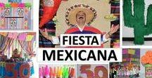 FIESTA MEXICANA DIY / Ideas para decorar una fiesta temática mexicana