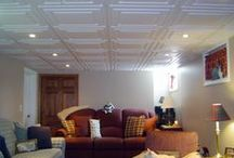 Basements / by Ceilume Ceiling Tiles