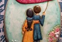 """Mi galleta ganadora en el concurso """"San Valentin"""" de Julia M Husher (mis creaciones)"""