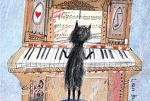 Music cartoons / Caricatura, humor e música