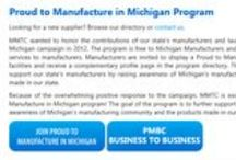 Michigan's Proud Manufacturers / Proud to Manufacture in Michigan