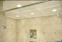 Bathrooms / by Ceilume Ceiling Tiles