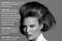 #JF TIPS AND TUTORIALS / Learn how to accomplish our JF power hairstyles with our exclusive tips and tutorials!