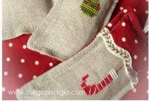 borduren voor kerst/noel/weihnachten