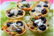 Party foods / Easy appetizers