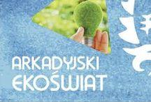 Arkadyjski EkoŚwiat  / Hol główny Arkadii zamienił się w Arkadyjski EkoŚwiat, czyli interaktywną i edukacyjną przestrzeń, w której zarówno mali jak i dorośli mogli bezpośrednio doświadczyć pozytywnej siły ekologii, zaprzyjaźnić się z przyrodą i osobiście sprawdzić, jak ważne jest dbanie o środowisko.