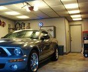 Garage Ceilings / Ceilume Ceiling Tile installations in garages.