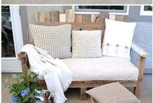 pallet and wood furniture