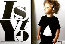 Monochrome Kids / Children's apparel, black and white clothing, monochrome kids / by Pencil Me In