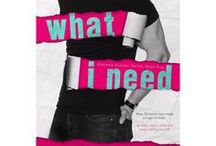 What I Need / Alabama Summer Book #5. CJ & Riley's story.  Fan-made teasers and castings for characters.