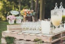 Rustic Wedding Inspiration / We love the rustic theme for weddings!