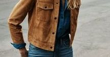Outfits • Mustard/Brown Clothes / Mustard and Brown clothes on simple outfits
