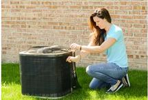 HVAC Babes / Women in the heating, ventilating and air conditioning industry. Plus, just tough women in general.