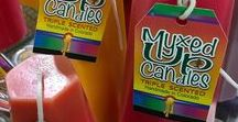 Candles / Handmade triple scented candles from Myxed Up Creations.