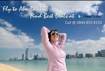 Flight to Middle East / Cheap Flights to Abu Dhabi Book Cheap Flights Tickets to Abu Dhabi at Travel Trolley UK.