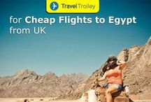 Cheap Flights to Egypt / Find cheap flights to Egypt at Traveltrolley. Book your flights today with low cost flights to Egypt.