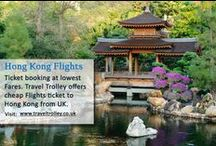 Cheap Flights to Hong Kong / Cheap flights to Hong Kong (HKG). Get cheap airfare for Hong Kong flights and book airline tickets online @ Travel Trolley from UK.