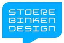SBD logo's / This is a collection of logos me and my partner made since 1995 for our own design studio www.stoerebinken.nl -  © Stoere Binken Design - Heb het lef!