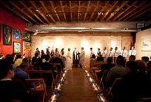 Chicago Wedding Venue: Mars Gallery / Unique Chicago venue for the perfect bride