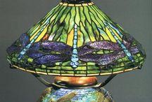 Lampes antiques et Tiffany