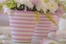 Çiçek Sepetleri ve Saksılar / Flowerpot / by selma akın