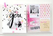 Art Journal. / This is the place where I collect inspiration for my art journal.
