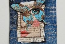 Art Journals - Faces and Figures / by Di McFarlane