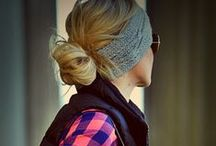 How to Wear a Headwrap /  Winter Headband / The perfect accessory to keep your ears warm when you hair is in a pony; this is inspiration for how to wear your Pink Maple Design winter headband.