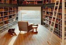 Bookshelf living / Most inspiring bookshelves!