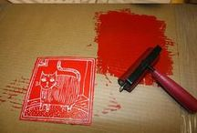 PRINTMAKING lessons / printmaking ideas, inspiration and techniques for teaching children.