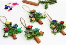 Julpyssel för barn /Christmas Crafts for Children