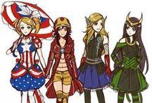 Anime and Cartoons / Disney,Naruto...