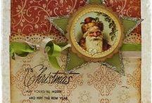 Christmas cards and tags
