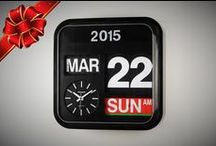 FARTECH® Flip Clocks available for retail online / Visit our online store at http://shop.fartechcorp.com or visit our Amazon stores at http://amazon.fartechcorp.com and http://amazon.fartechcorp.ca