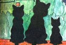 Cats by Louis  William  Wain