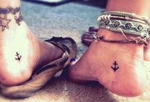 Cool tattoos and piercings