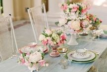 Table-Scapes and Place Settings / Great tips for creating a beautiful dining experience for your guests.