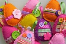 Easter / All things Easter! Crafts, recipes, printables, projects, kid activities and decorating ideas. Chicks, bunnies, eggs and flowers galore!