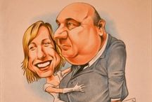 Wedding Ideas Caricatures - My works / Caricature di sposi realizzate a mano, tecnica matita Hand made caricature with pencils