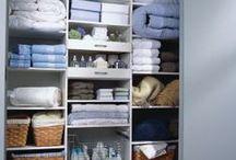 Rouparia e organização / Assim como a gente, a casa também tem suas roupas, certo? Então nada melhor que ter um lugar adequado pra guardar tudo de forma organizada...