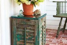 Reciclagem / Reciclar é tudo de bom.... eu adoro inventar coisas e usá-las pra, além de decorar o ambiente, também organizar...