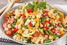 recipes salads / by Marlene T