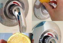 Dicas úteis de Higienização / Dicas e truques pra deixar tudo limpinho...
