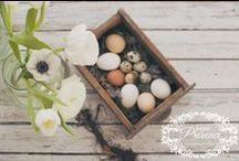 Vidéki húsvét | Shabby Chic húsvét / Húsvéti dekorációink a vintage, vidéki stílus és a shabby chic jegyében.
