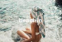 beachin.