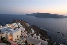 Santorini / Santorini in Greece - Holiday Photos with friends