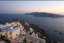 Santorini / Santorini in Greece - Holiday Photos with friends