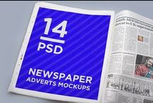 14 Newspaper Adverts Mockups / http://graphicriver.net/item/14-newspaper-adverts-mockups/12972067;ref=goner13  Features  - 14 PSD with different shoots of newspaper  - 4 PSD with premade interior  - changeable background color  - based on real photo BR> - replacing via Smart Objects  - photorealistic look - fully layered PSD - easy file structure with help file  - 4000×2800 px file size 240 ppi